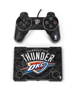 Oklahoma City Thunder Dark Rust PlayStation Classic Bundle Skin