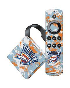 Oklahoma City Thunder Digi Camo Amazon Fire TV Skin