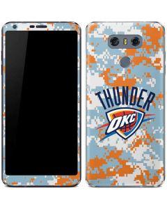 Oklahoma City Thunder Digi Camo LG G6 Skin