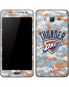 Oklahoma City Thunder Digi Camo Galaxy Grand Prime Skin