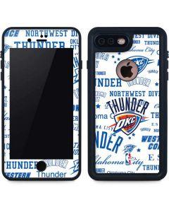 Oklahoma City Thunder Historic Blast iPhone 7 Plus Waterproof Case