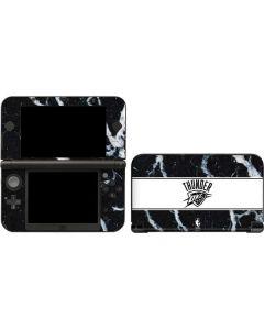 Oklahoma City Thunder Marble 3DS XL 2015 Skin