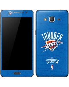 Oklahoma City Thunder Primary Logo Galaxy Grand Prime Skin