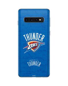 Oklahoma City Thunder Primary Logo Galaxy S10 Skin