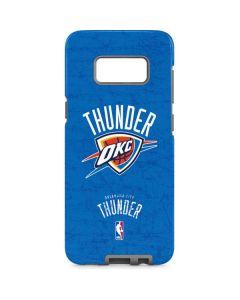 Oklahoma City Thunder Primary Logo Galaxy S8 Pro Case