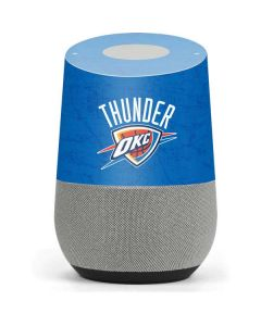 Oklahoma City Thunder Primary Logo Google Home Skin