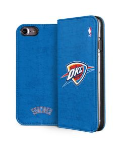 Oklahoma City Thunder Primary Logo iPhone 7 Folio Case