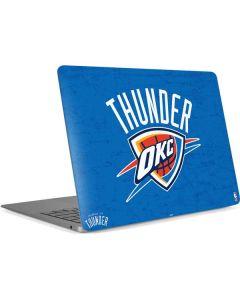Oklahoma City Thunder Primary Logo Apple MacBook Air Skin