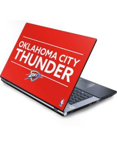 Oklahoma City Thunder Standard - Orange Generic Laptop Skin