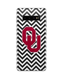 Oklahoma Sooners Chevron Galaxy S10 Plus Skin