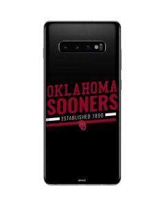 Oklahoma Sooners Est 1890 Galaxy S10 Plus Skin