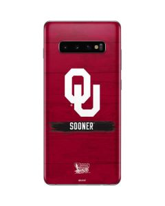 Oklahoma Sooners Galaxy S10 Plus Skin