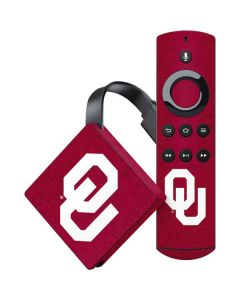 Oklahoma Sooners Red Amazon Fire TV Skin