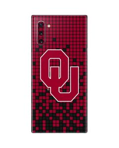 Oklahoma Sooners Red Digi Galaxy Note 10 Skin