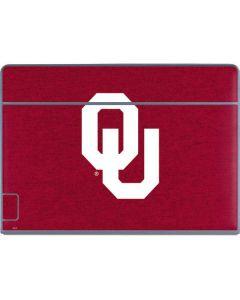 Oklahoma Sooners Red Galaxy Book Keyboard Folio 12in Skin