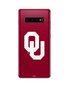 Oklahoma Sooners Red Galaxy S10 Plus Skin