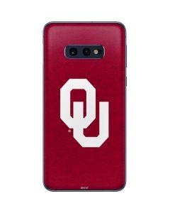 Oklahoma Sooners Red Galaxy S10e Skin
