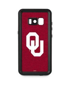 Oklahoma Sooners Red Galaxy S8 Plus Waterproof Case