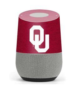 Oklahoma Sooners Red Google Home Skin