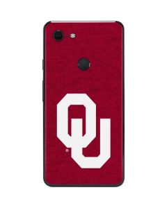 Oklahoma Sooners Red Google Pixel 3 XL Skin