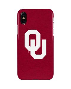 Oklahoma Sooners Red iPhone XS Max Lite Case