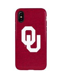 Oklahoma Sooners Red iPhone XS Max Pro Case