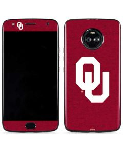 Oklahoma Sooners Red Moto X4 Skin