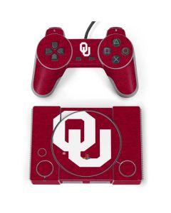 Oklahoma Sooners Red PlayStation Classic Bundle Skin