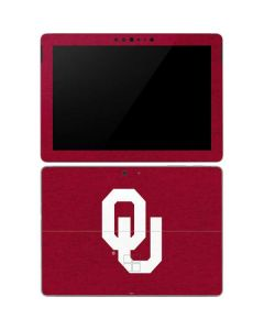 Oklahoma Sooners Red Surface Go Skin