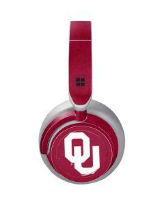 Oklahoma Sooners Red Surface Headphones Skin