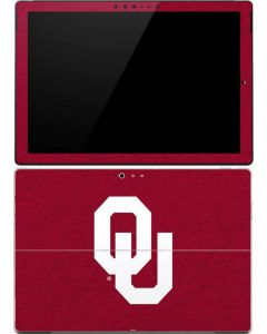 Oklahoma Sooners Red Surface Pro 4 Skin