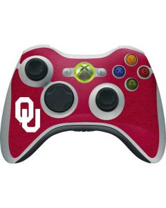 Oklahoma Sooners Red Xbox 360 Wireless Controller Skin