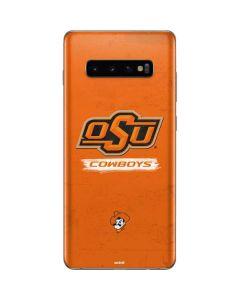 Oklahoma State Vintage Galaxy S10 Plus Skin