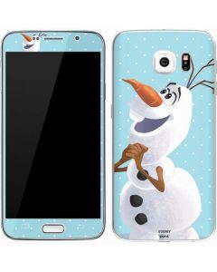 Olaf Polka Dots Galaxy S7 Skin