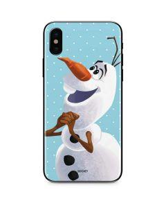 Olaf Polka Dots iPhone XS Max Skin