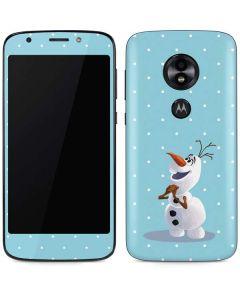 Olaf Polka Dots Moto E5 Play Skin
