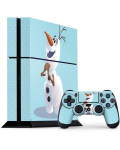 Olaf Polka Dots PS4 Console and Controller Bundle Skin