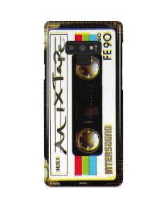 Old Mixtape Galaxy Note 9 Lite Case