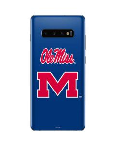 Ole Miss Galaxy S10 Plus Skin
