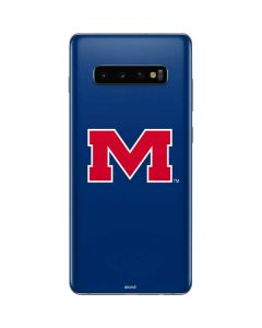 Ole Miss Logo Galaxy S10 Plus Skin