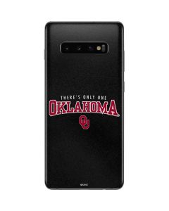 Only One Oklahoma Sooners Galaxy S10 Plus Skin