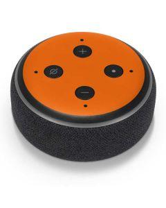 Orange Amazon Echo Dot Skin