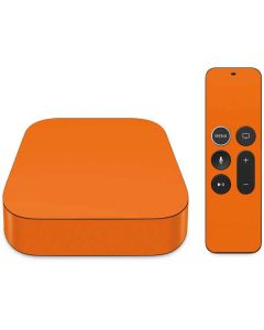 Orange Apple TV Skin
