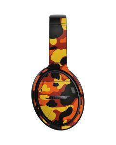 Orange Camo Bose QuietComfort 35 Headphones Skin