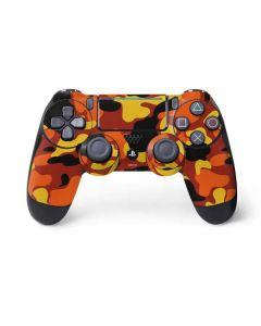 Orange Camo PS4 Pro/Slim Controller Skin