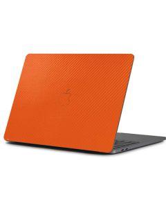 Orange Carbon Fiber Apple MacBook Pro 13-inch Skin