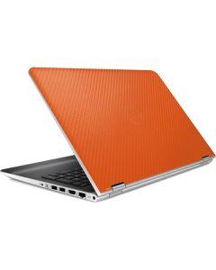 Orange Carbon Fiber HP Pavilion Skin