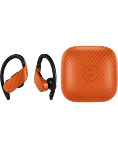 Orange Carbon Fiber PowerBeats Pro Skin