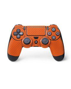 Orange Carbon Fiber PS4 Pro/Slim Controller Skin