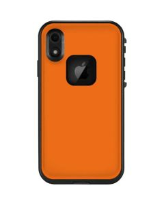Orange LifeProof Fre iPhone Skin